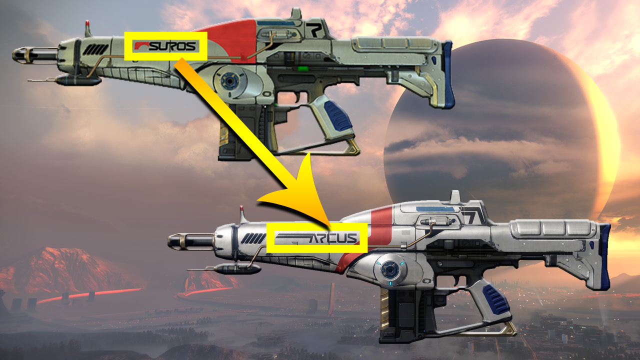 """Destiny 2 on Twitter: """"Did you know: Suros Regime used to ..."""