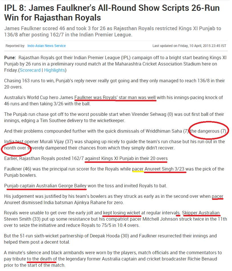 Dear @NDTV You wrote about Bihar Teachers bad English Your English, Reporting & Editing is downright THIRD CLASS too! http://t.co/mR7dyifdYc
