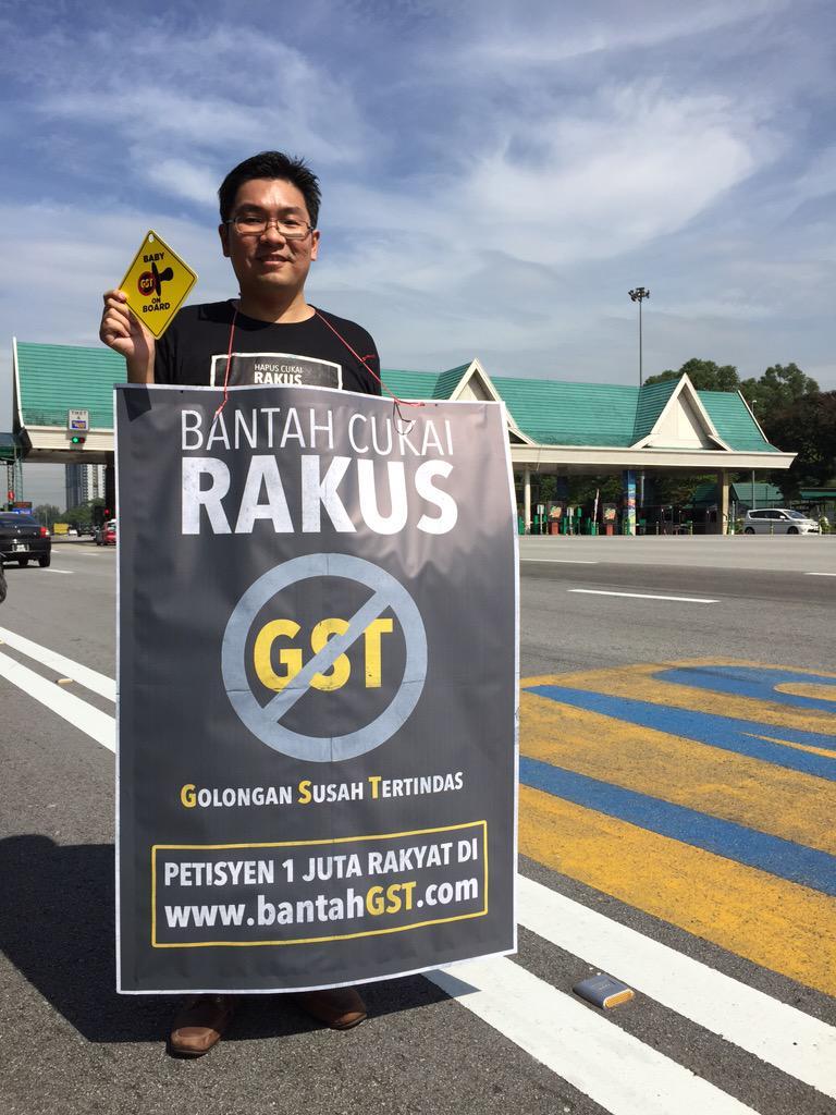 #BantahGST ! Sign petition Rakyat at http://t.co/mA4rgKsBjo now! http://t.co/tmWjLAclnP
