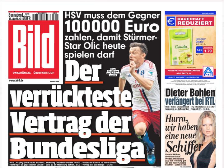 Bildzeitung Von Morgen