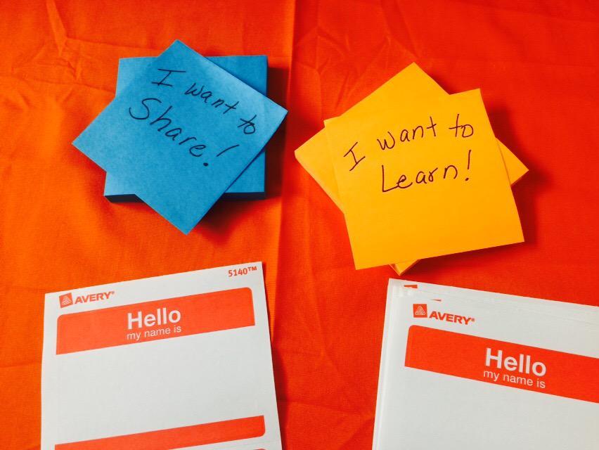 Learning and sharing starting at @EdcampBranford #EdCampBranford http://t.co/WI2EfNhjwy