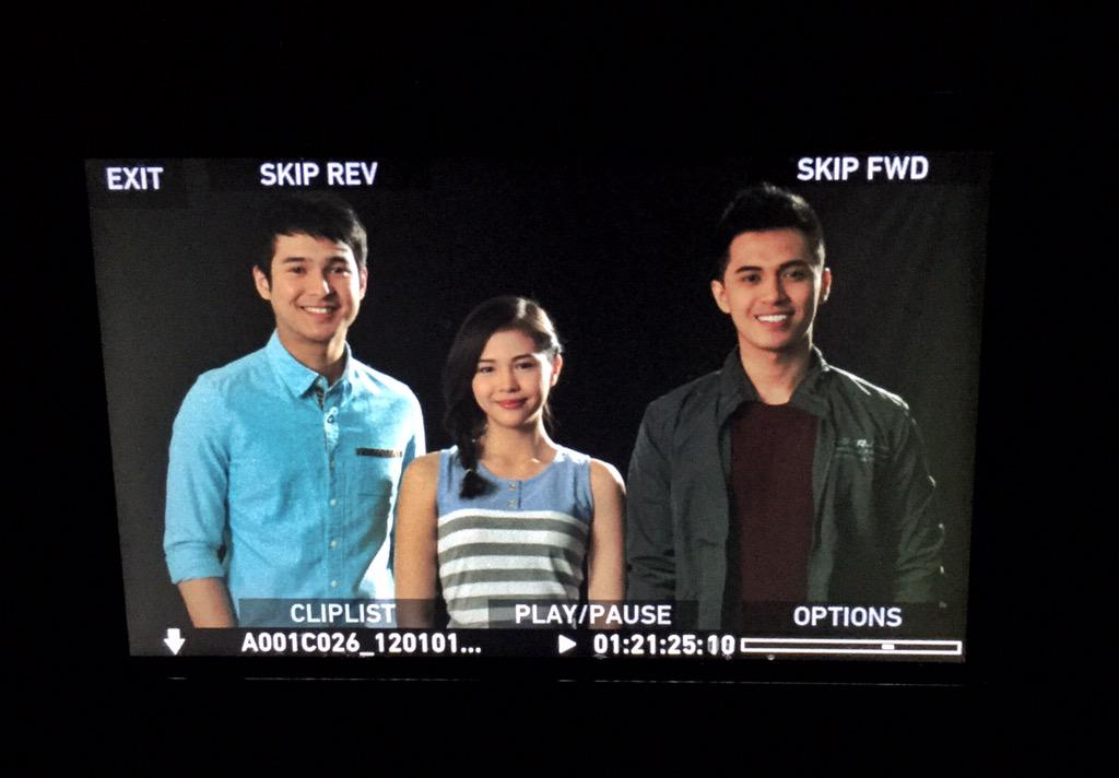 "The cast of ""Retreat House"". @superjanella @ponce_jerome @marlo_mortel #RetreatHouse #RegalFilms http://t.co/o4TiutkJ5C"