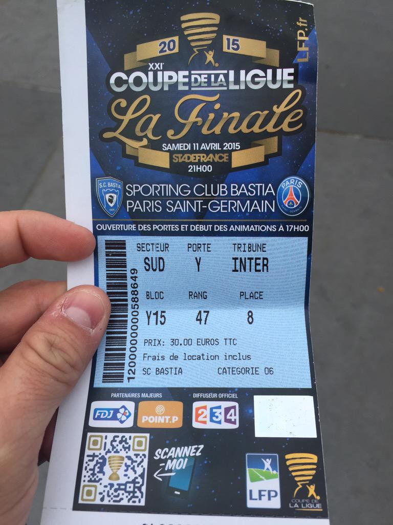 .@s_c_bastia j'ai trouvé cette place par terre à #Paris l'un de vos supporters est intéressé? Je la donne.RT #PSGSCB http://t.co/xhv1t4Gi6r