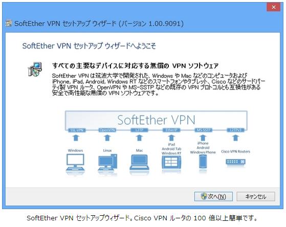 SoftEther VPNのマニュアルの丁寧で面白みのある記述好き。 http://t.co/dAwan45I6V
