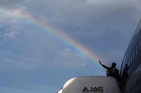 Cette photo dingue d'Obama signée @petesouza <3 http://t.co/N3EhwRT8DR