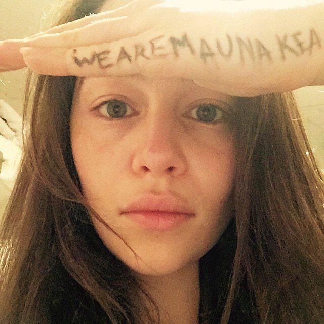 Emilia Clarke And Jason Momoa Stand Up For Mauna Kea In