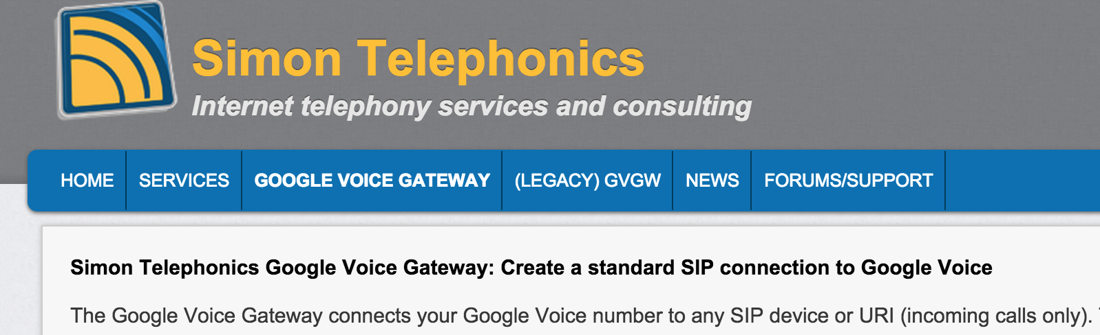 The Gotcha-Free PBX: Simon Telephonics New SIP Gateway for Google Voice