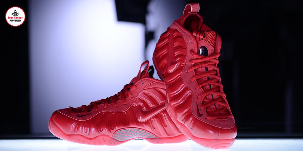 928f801863a Online 2015 Nike Foamposite Pro Gym Red