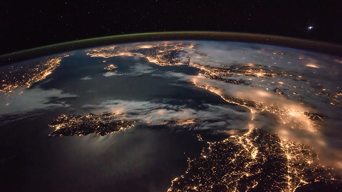 Mesmerizing Time Lapse Iss Captures Europe Cityscape