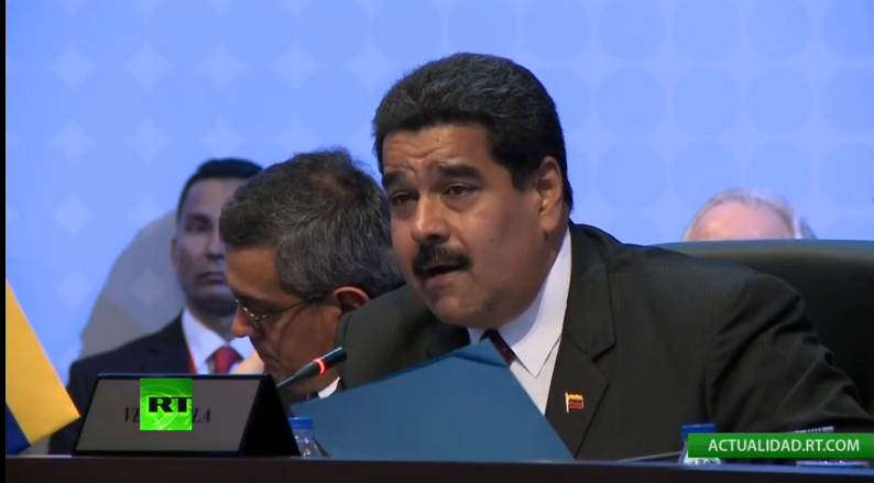 Maduro Demands Abolition of U.S. Executive Order against Venezuela