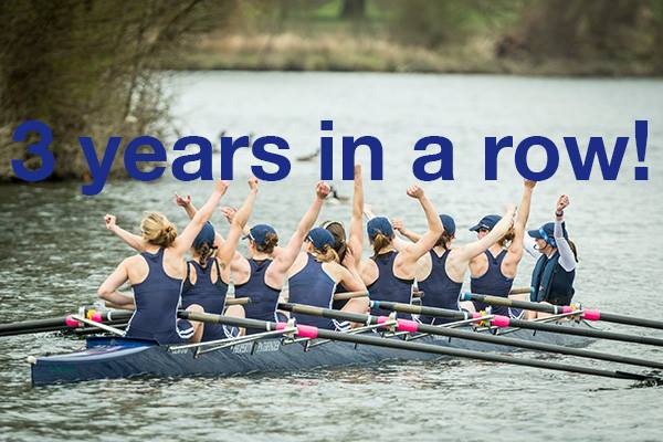 Congratulations to @OUWBCsquad for winning a historic #boatrace2015!   RT this to say well done Oxford! http://t.co/NNvIfmu2Ii