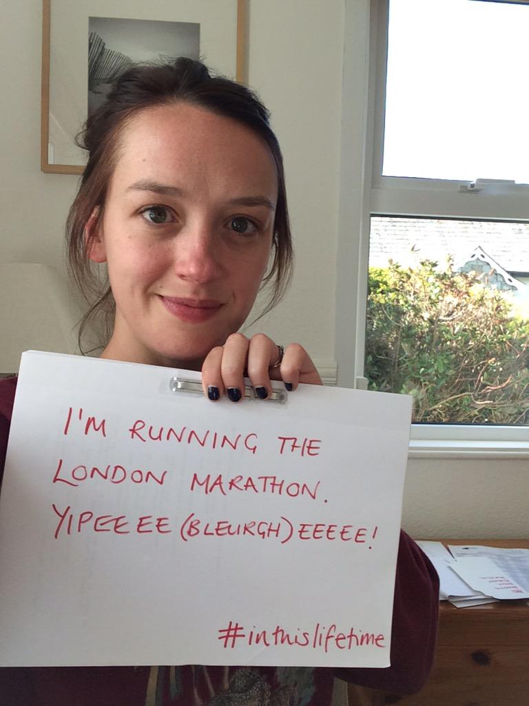 I'm running @LondonMarathon for @beatbloodcancer Please sponsor if you can... http://t.co/pwib5YWMas #inthislifetime http://t.co/3jZAAxAcbA