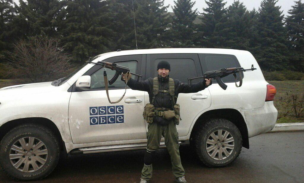 ОБСЕ зафиксировала многочисленные обстрелы позиций украинских воинов в районе Широкино - Цензор.НЕТ 9010