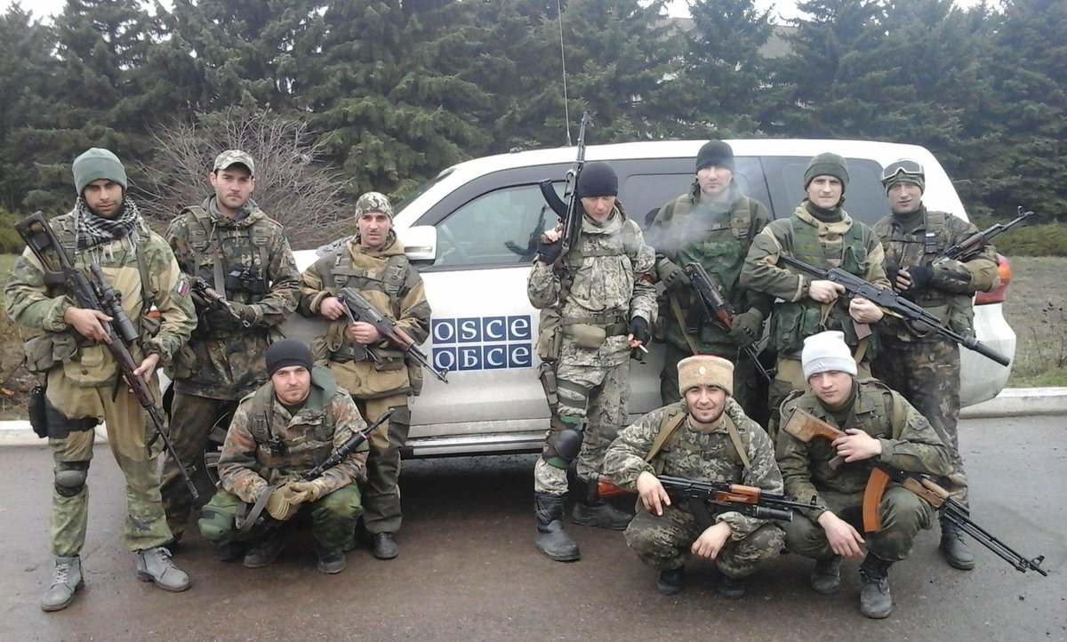 ОБСЕ зафиксировала многочисленные обстрелы позиций украинских воинов в районе Широкино - Цензор.НЕТ 4472