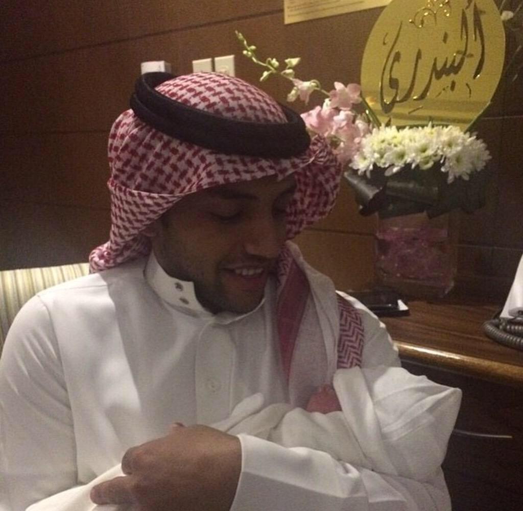 مبروووووووك  للأخ والصديق الكابتن  محمد الشلهوب قدوم البندري جعلها الله من مواليد السعادة ❤️❤️❤️ http://t.co/2y51PcH34U