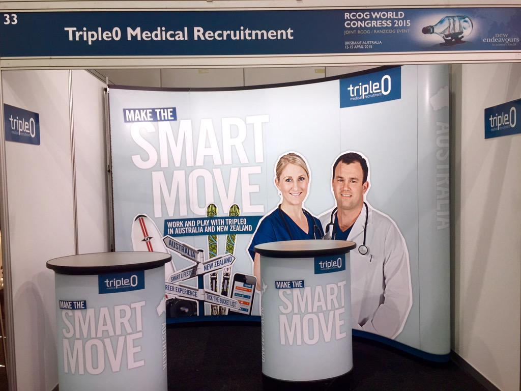 RT @Triple0_Medical: Looking for #newendeavours? We're all ready at Booth 33 #RCOG2015 to discuss locum and permanent O&G jobs @CheneryC ht…