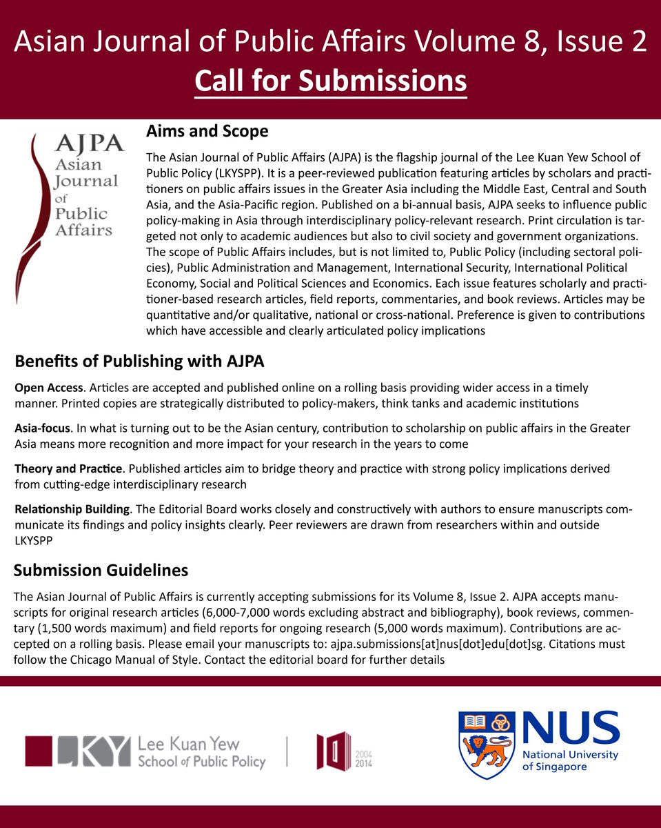 Asian journal of public affairs