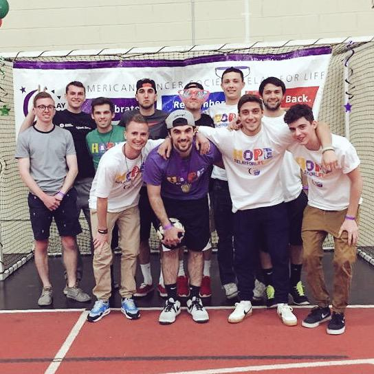 Showing our support at relay for life #FightBack #CCD3week #upthebears http://t.co/7FHloPTj5H