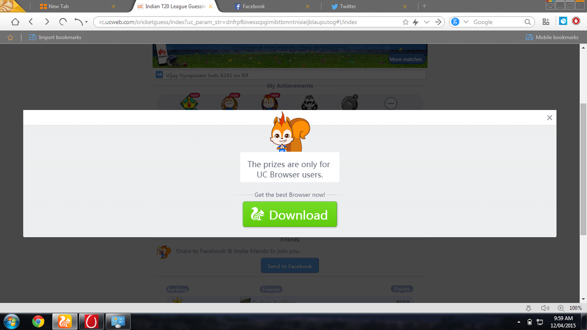 UC Browser on Twitter: