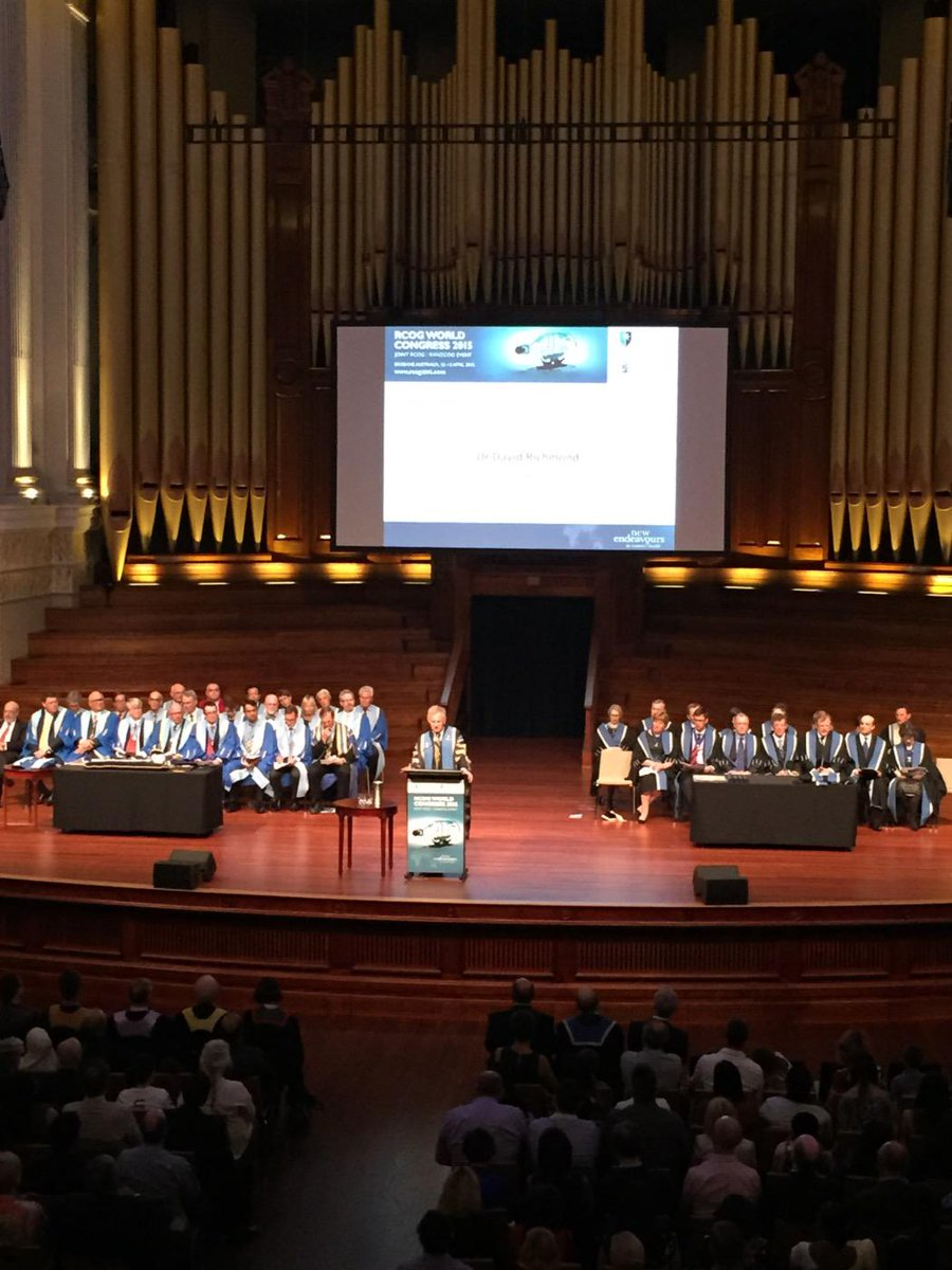 RCOG President gives welcome address at admissions ceremony - discusses the future of women's healthcare #RCOG2015 http://t.co/ZjT06jg9Vt