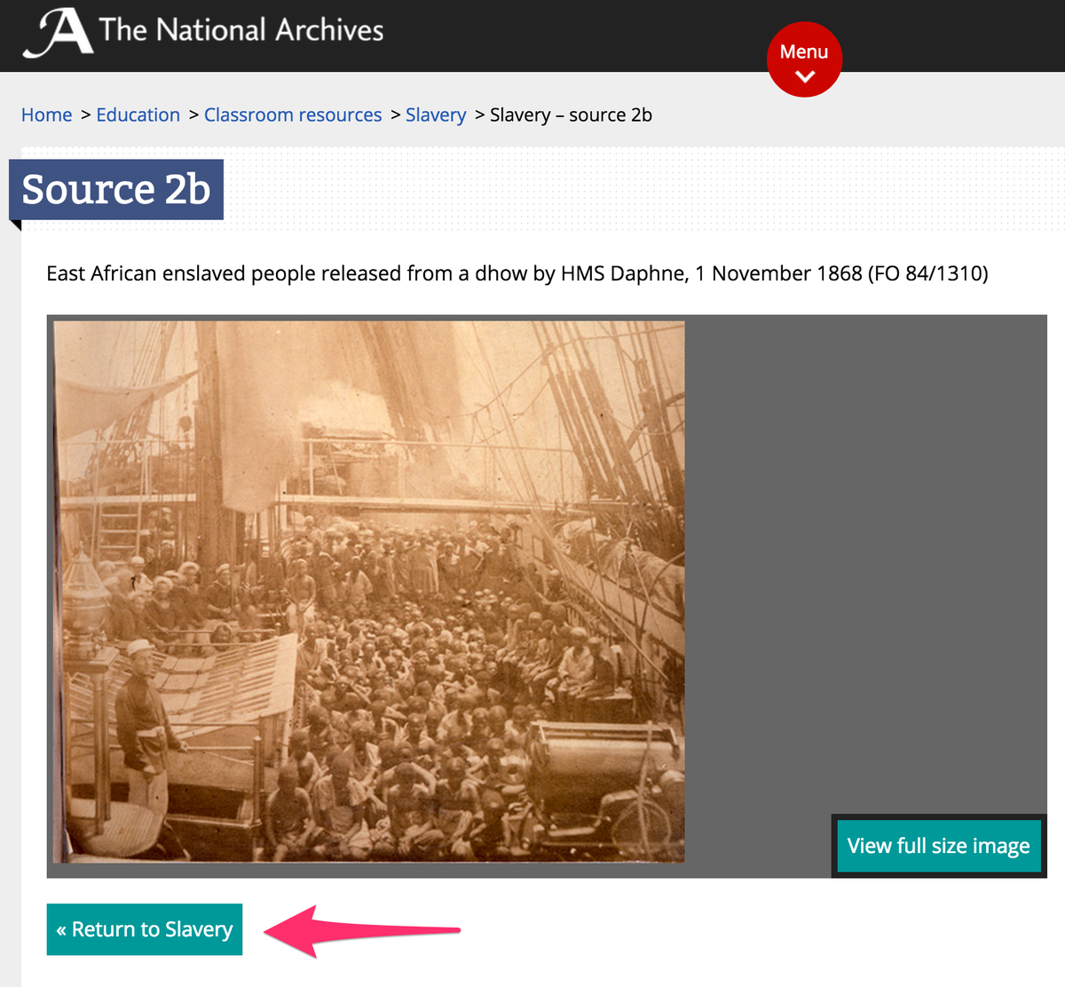 An unfortunately named button on the National Archives web site. http://t.co/stJgiM9jDO