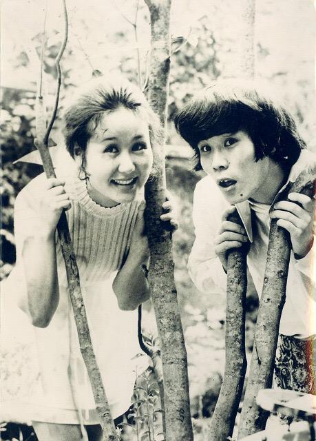 若かりし日の林家ぺーパー師匠。素敵すぎて待受画面にしてます。 http://t.co/BtiHAaDKGE