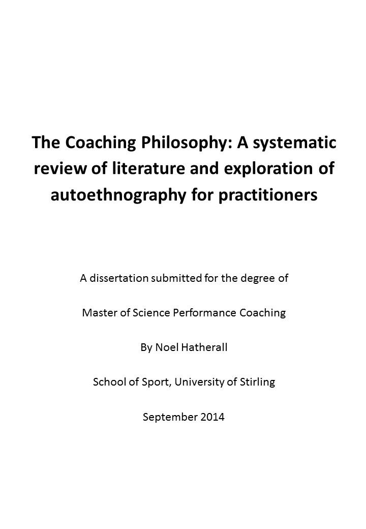 coaching philosophy essay Philosophy paper by: bradyjones if iwas coaching whether or not iwould want to yell at aathlete to get my philosophy and values are the backbone of the way.