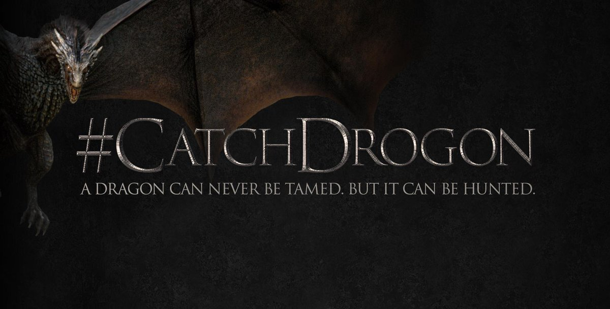 The hunt is on. Now is your chance to capture the realm's most notorious dragon. #CatchDrogon #GoTSeason5 http://t.co/tluQbw2jPx