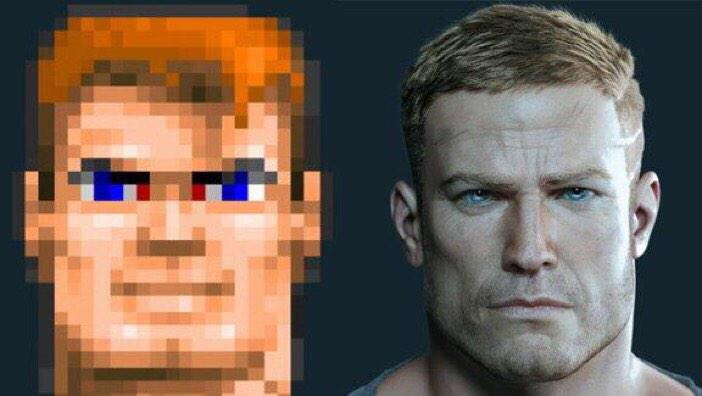 Moore's Law applied to game graphics: 1992 vs. 2014 http://t.co/WtBeTVotBq