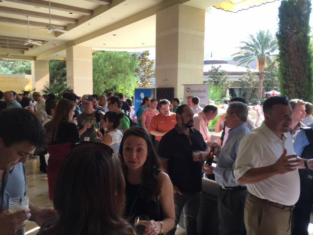 Hostway: Great turn out at the #PreImagine event with @magentogirl! Kicking off #ImagineCommerce in style. http://t.co/wimdX3uprK