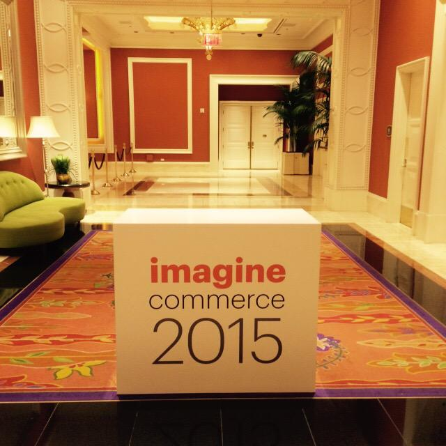 evangeline518: Calm before the storm #ImagineCommerce http://t.co/BL8KKNBT9h