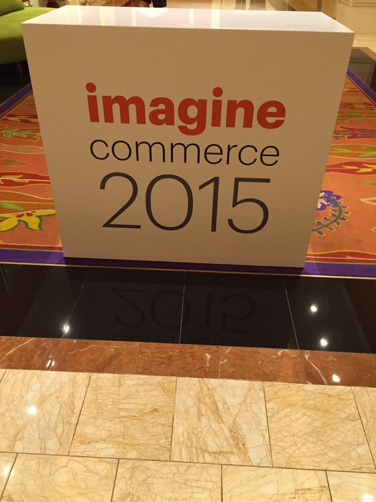 DCKAP: Welcome to #ImagineCommerce #magentoimagine http://t.co/WNMdwa3Arn