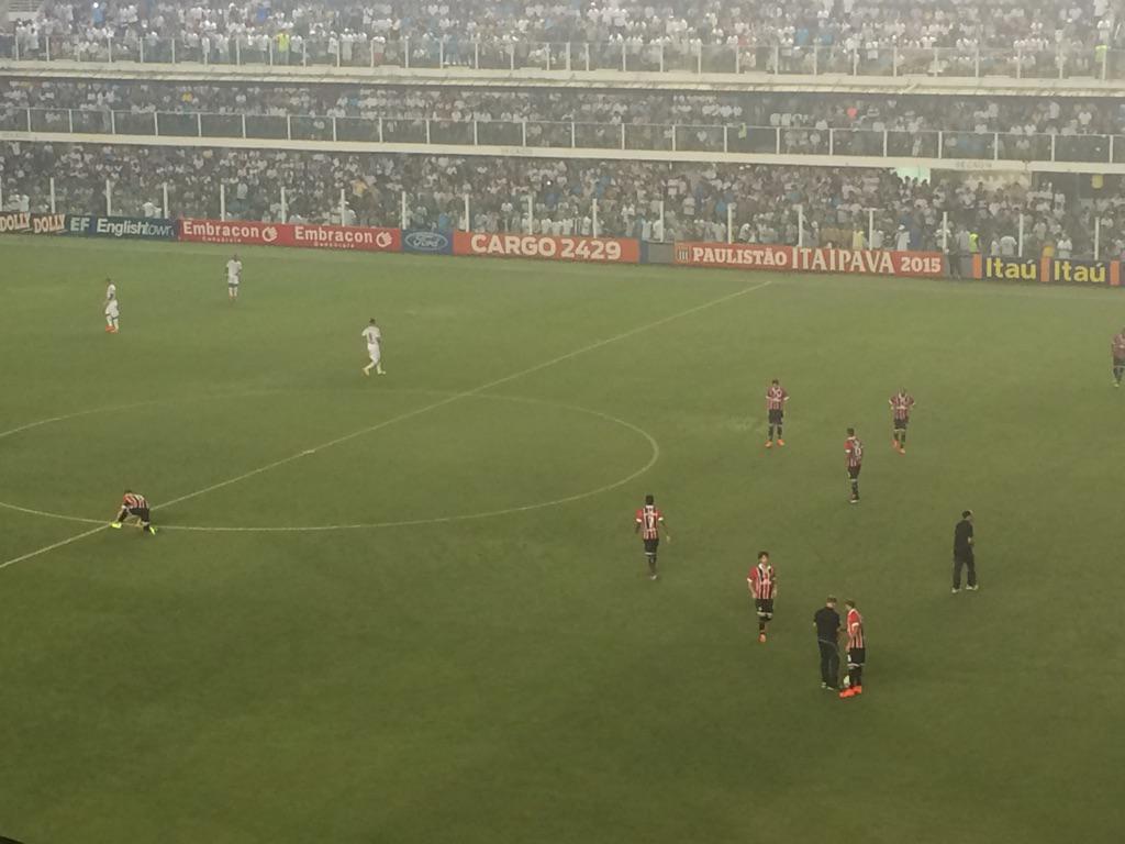 Santos x São Paulo - Campeonato Paulista 2015 - globoesporte.com 72aa02464d944