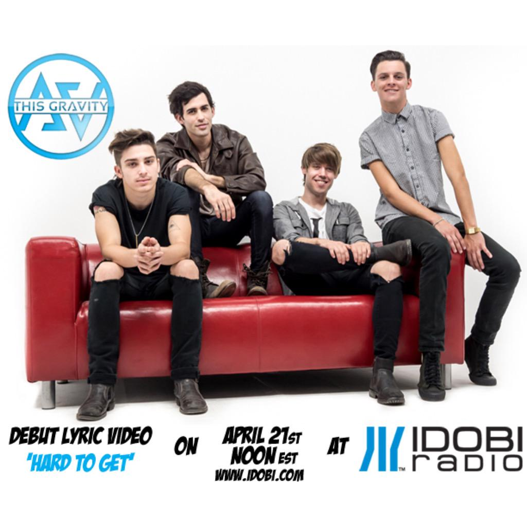 We're premiering our debut single Hard To Get Tuesday at Noon eastern (11am) central on @idobiradio @thisgravityband http://t.co/ribyYFwDyk