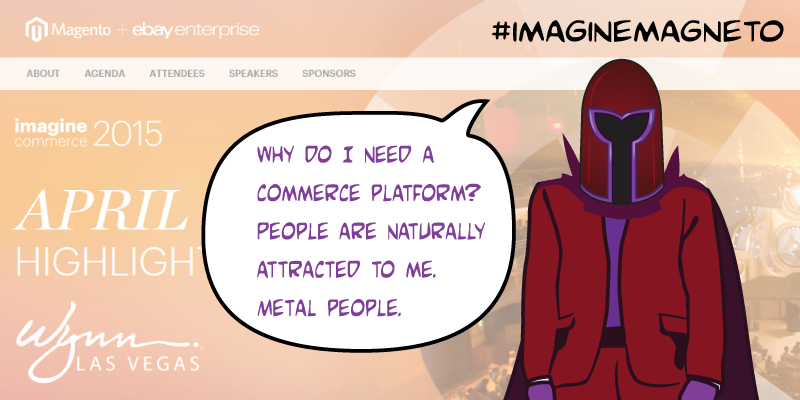 LawrenceByrd: (2 of N) Comic: 'Confusion in Magento-Land' nAttract Metal People.n#imaginecommerce #imaginemagneto http://t.co/Y97EJHEI2L