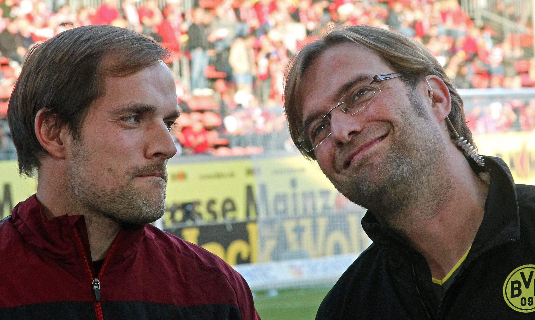 Feel the love! Meet Borussia Dortmund's current and future managers | http://t.co/tfweccte4H
