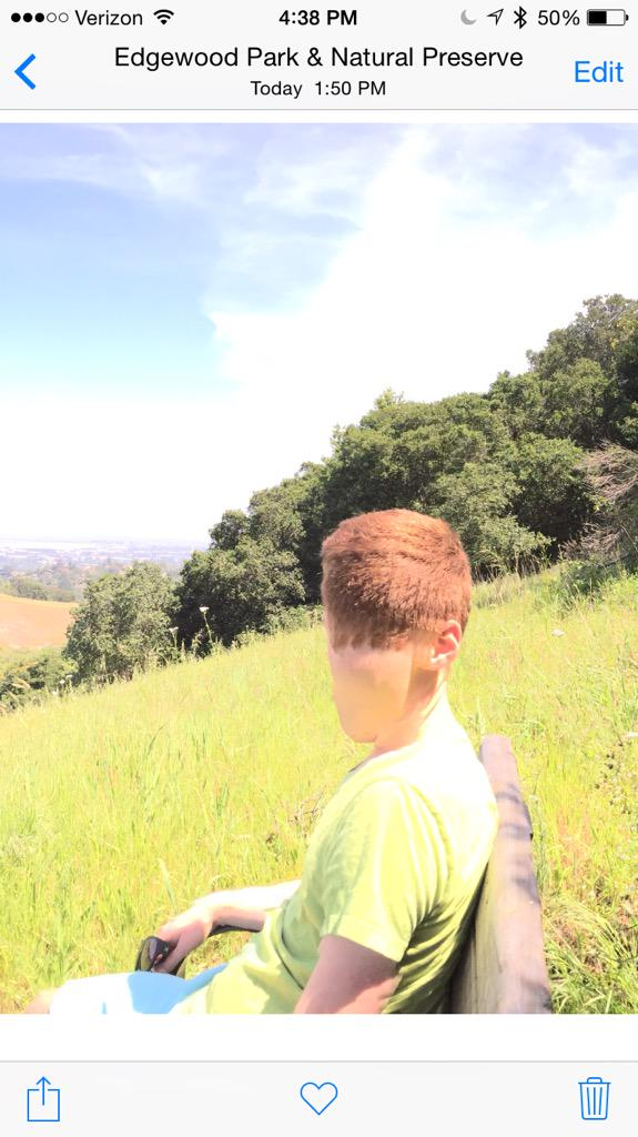 Sometimes the iPhone's panorama mode does... frightening things http://t.co/O9430DTrFJ