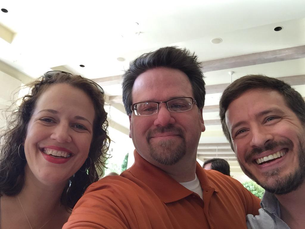 subscribeprosw: Hanging out at #PreImagine with @lfolco and @wlvrn. Great meeting you! http://t.co/Y84RdyXOcK