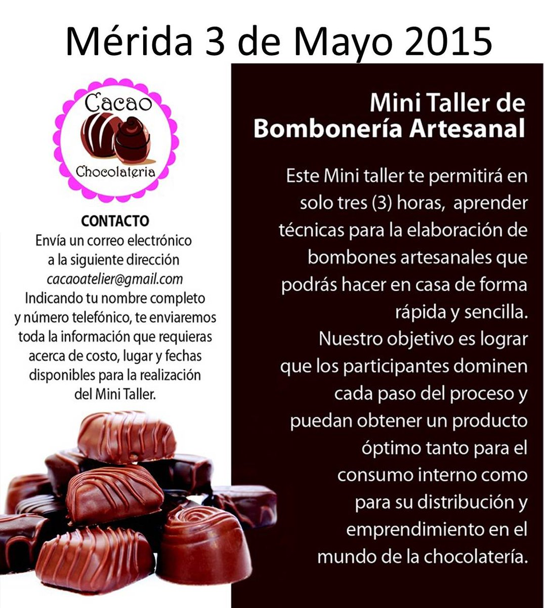 Cacao Chocolateria (@cacaoatelier) | Twitter