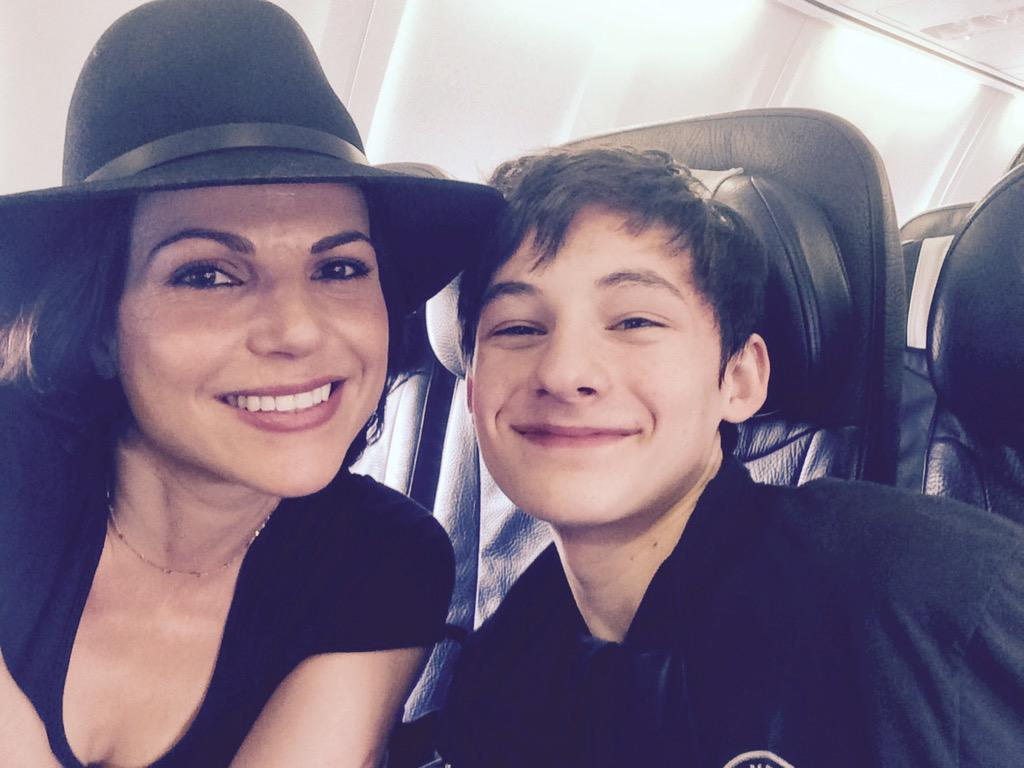 "Lana Parrilla on Twitter: ""How lucky is this mom! Bumped ..."