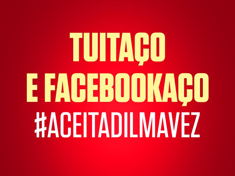 EM ALTA NAS REDES Participe você também! #AceitaDilmaVez http://t.co/pyivYIdOl7