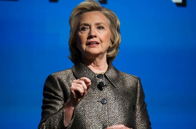 Hillary Clinton annuncia ufficialmente la candidatura alla presidenza degli Stati Uniti