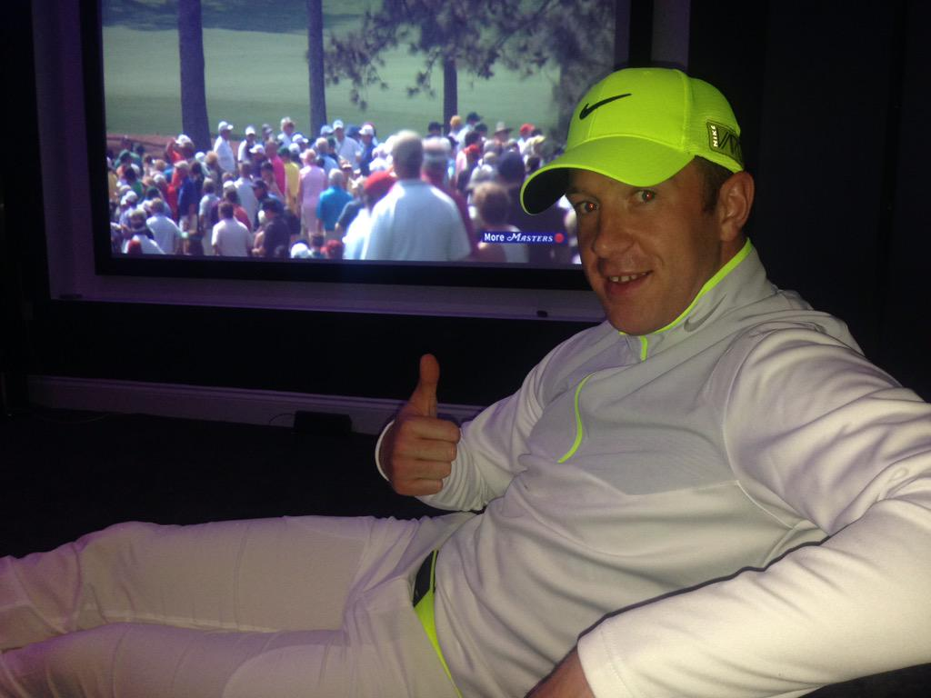 All set for the masters http://t.co/zeMqeifCvb