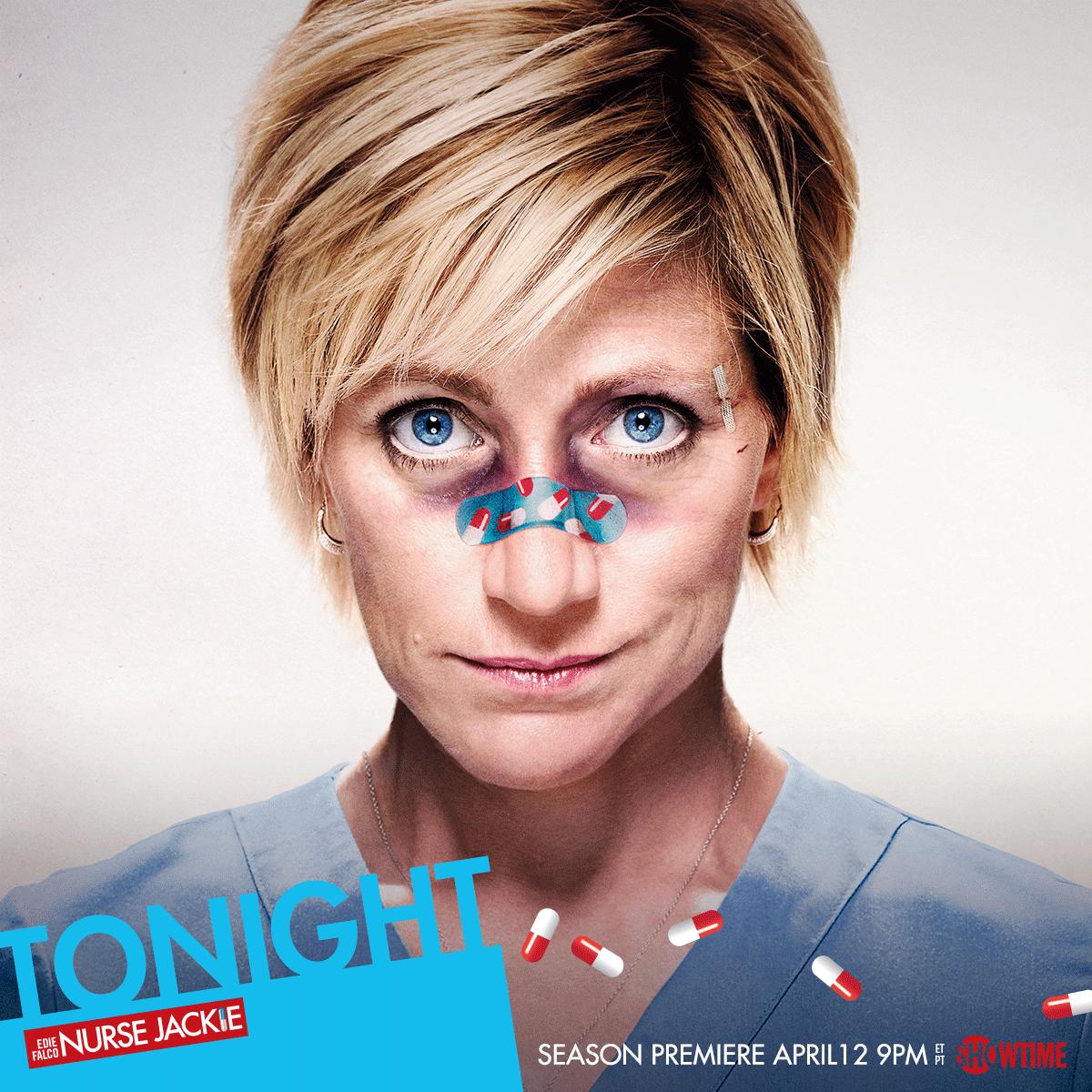 Never go down easy. #NurseJackie returns TONIGHT at 9PM ET/PT. http://t.co/KmO8y7jPbV