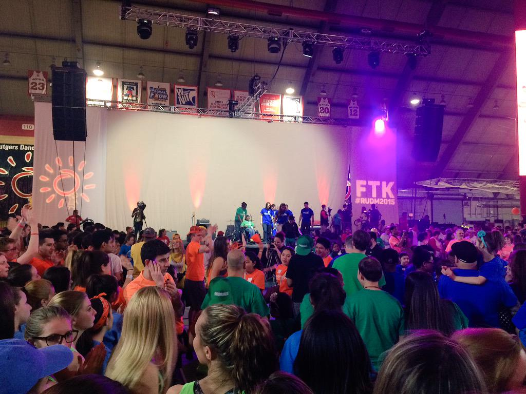 Not only are we dancing for the kids, but now we're dancing with them! @EmbraceKids #RUDM2015 #FTK #hour27 http://t.co/EZA4UxfkOB