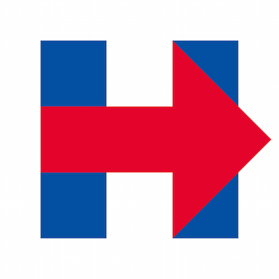 This isn't @HillaryClinton's campaign logo. She just left her blinker on. http://t.co/KD9XuwdlJ6