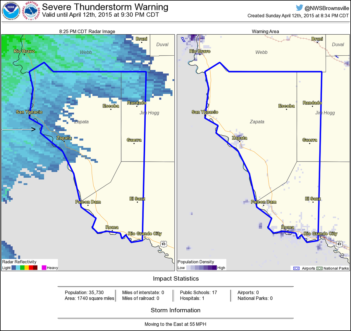 Map Of Zapata Texas.Nws Severe Tstorm On Twitter Severe Thunderstorm Warning Including