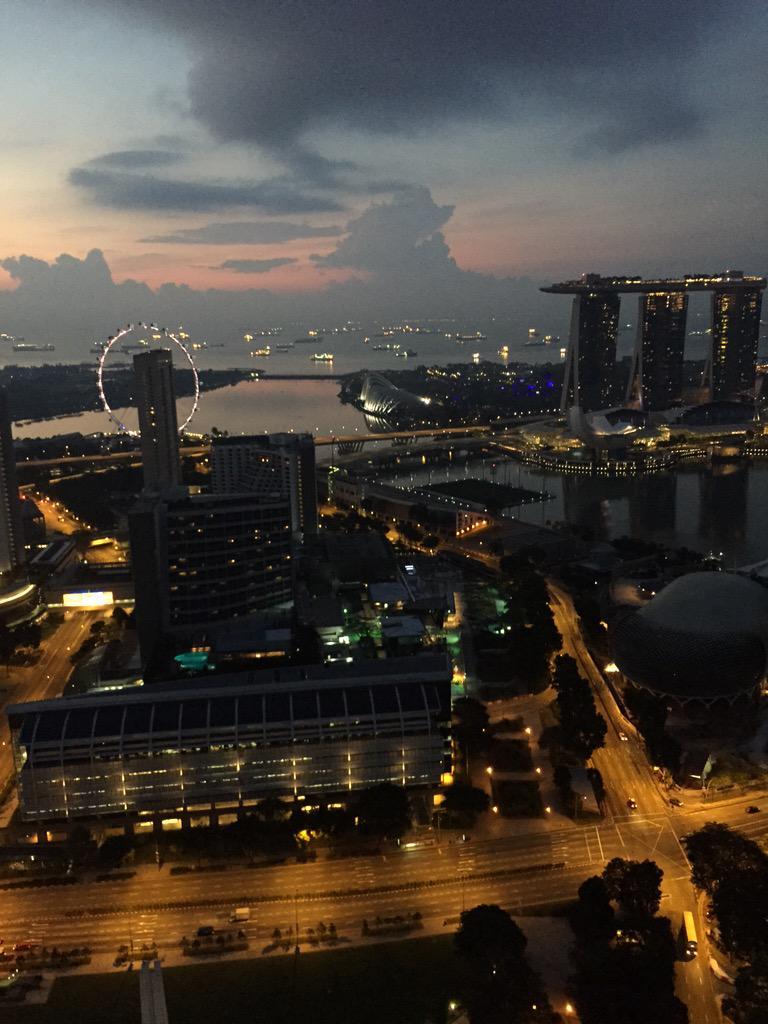 Singapore sunrise.. Loved last night.. KL tonight #HillsongWorship http://t.co/ckxXfSbuu9