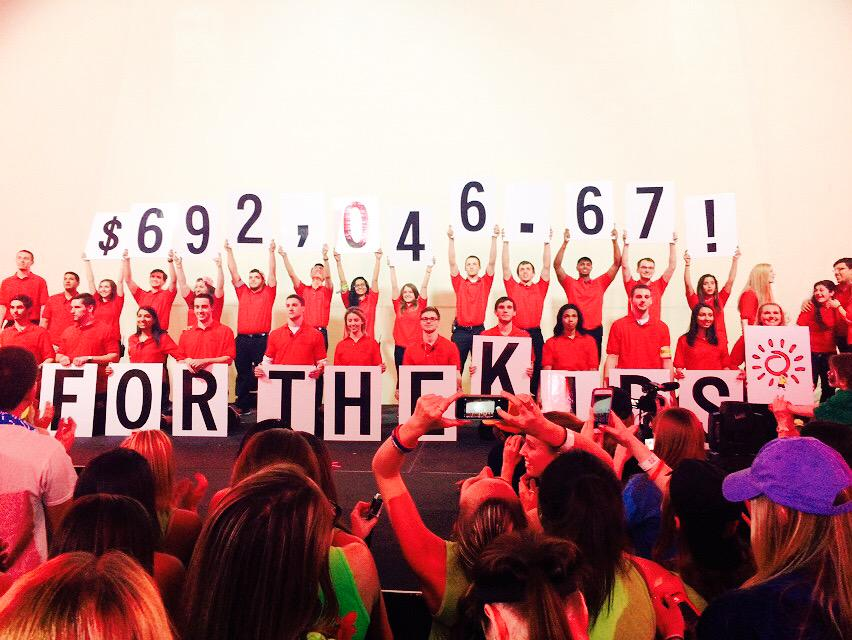 WE DID IT! 30 HOURS OF DANCE MARATHON!!!!! & RAISED A RECORD BREAKING TOTAL #FTK!!!! CONGRATS RUTGERS!!! #RUDM2015 http://t.co/3MOxmMF1bX