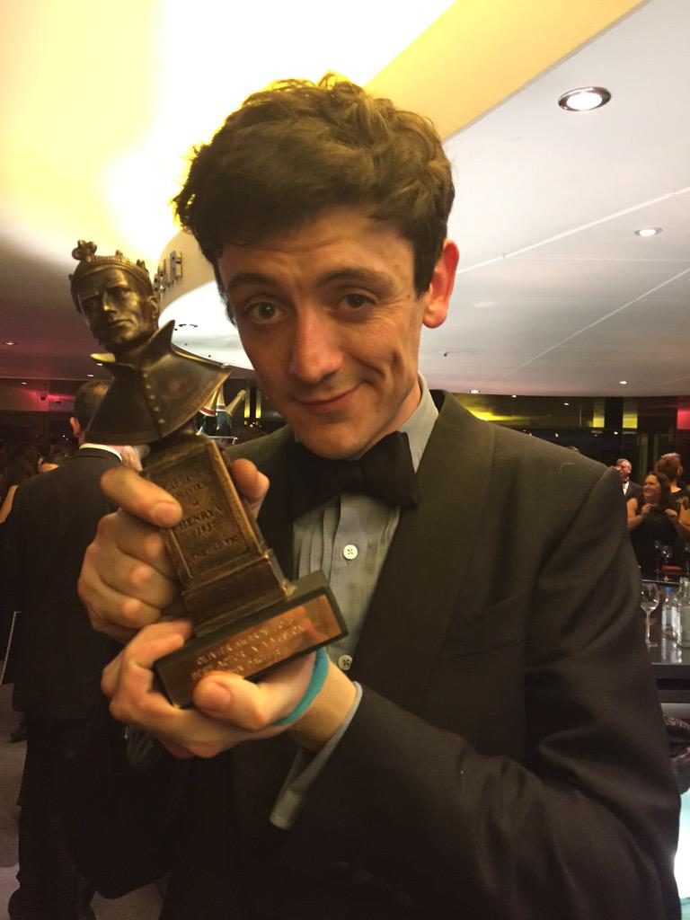 So this happened tonight... Utterly overwhelmed and thrilled that our show cleaned up!! @KinksMusical #OlivierAwards http://t.co/RSRBV8B5hq